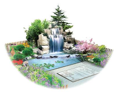 高山流水——2006年英国皇家花展