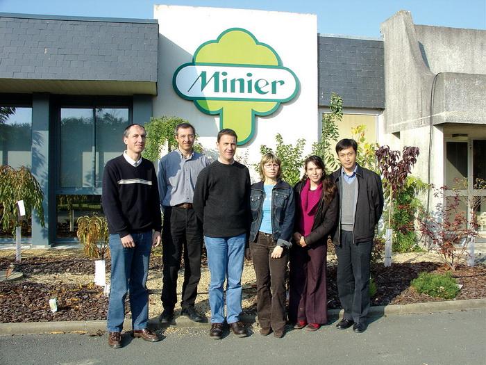 龙8国际唯一官网园林与国外苗木公司展开长期合作