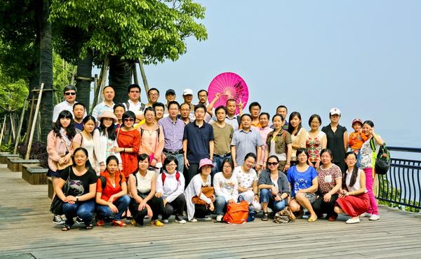 公司工会组织员工赴千岛湖旅游