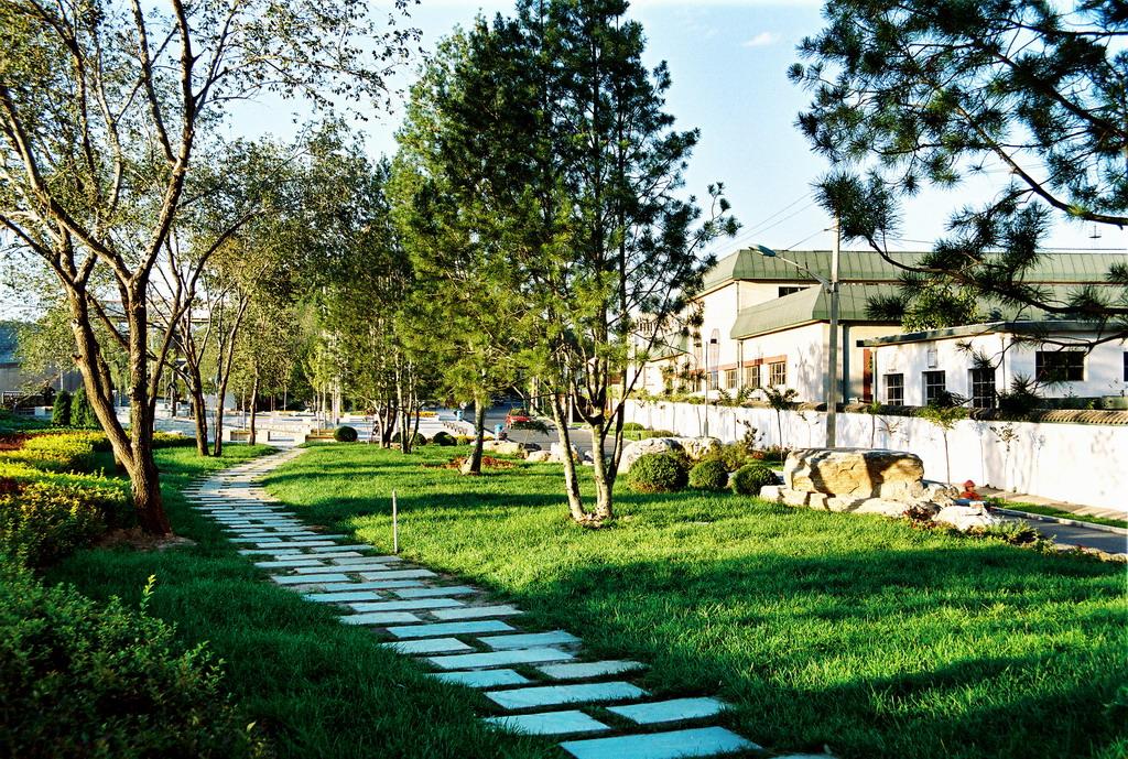 北京怀柔水库滨湖景观带