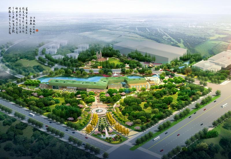 西安国际陆港现代物流企业聚集区