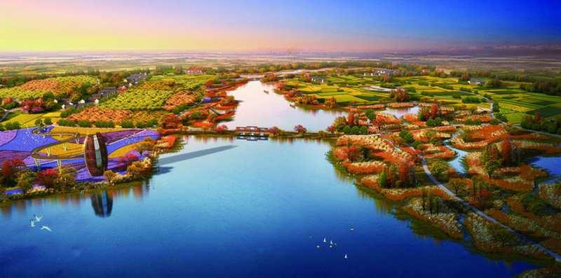 霍邱县城南湿地公园